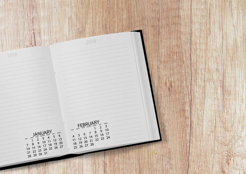 biurkowe kalendarze spiralowane